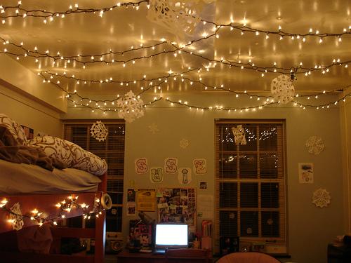 Cool dorm lighting